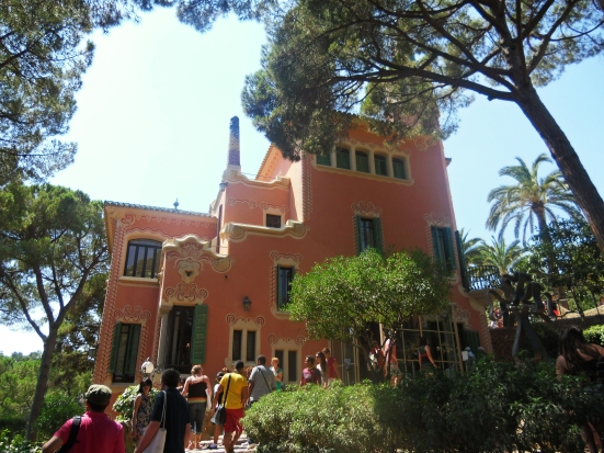 Rumahnya Antonio Gaudi