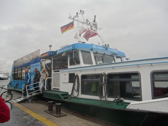 Kapal di port Hamburg
