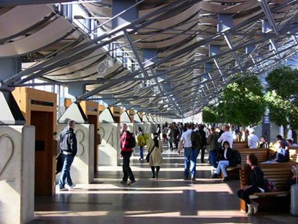Terminal Gothenburg, foto diambil dari: arch.ksu.edu